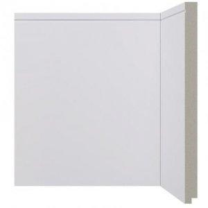 Rodapé Poliestireno Branco - 520